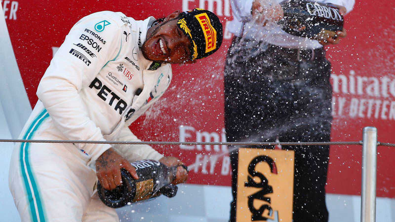 Lewis Hamilton, sólido líder del Mundial de F1.
