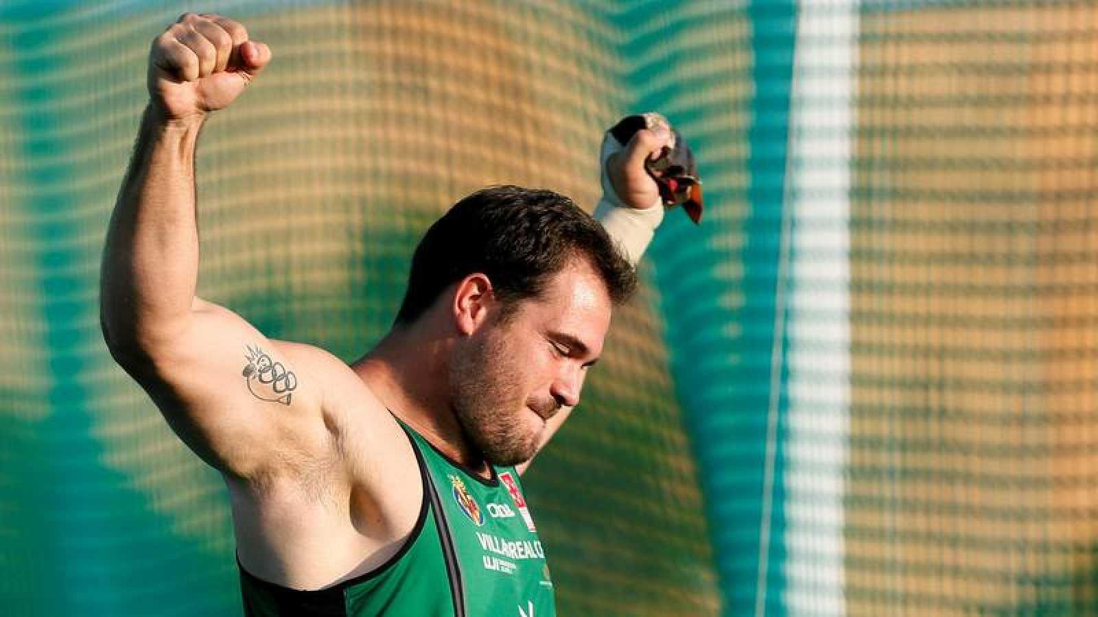 Cienfuegos eleva su récord nacional de martillo a los 78,70 metros