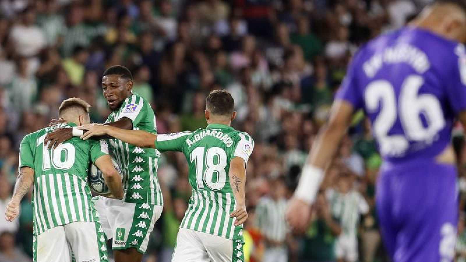 El Betis suma su primera victoria a costa del Leganés