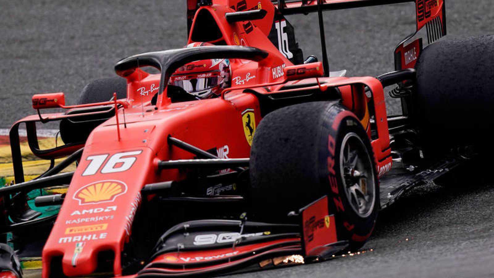Leclerc gana en Bélgica