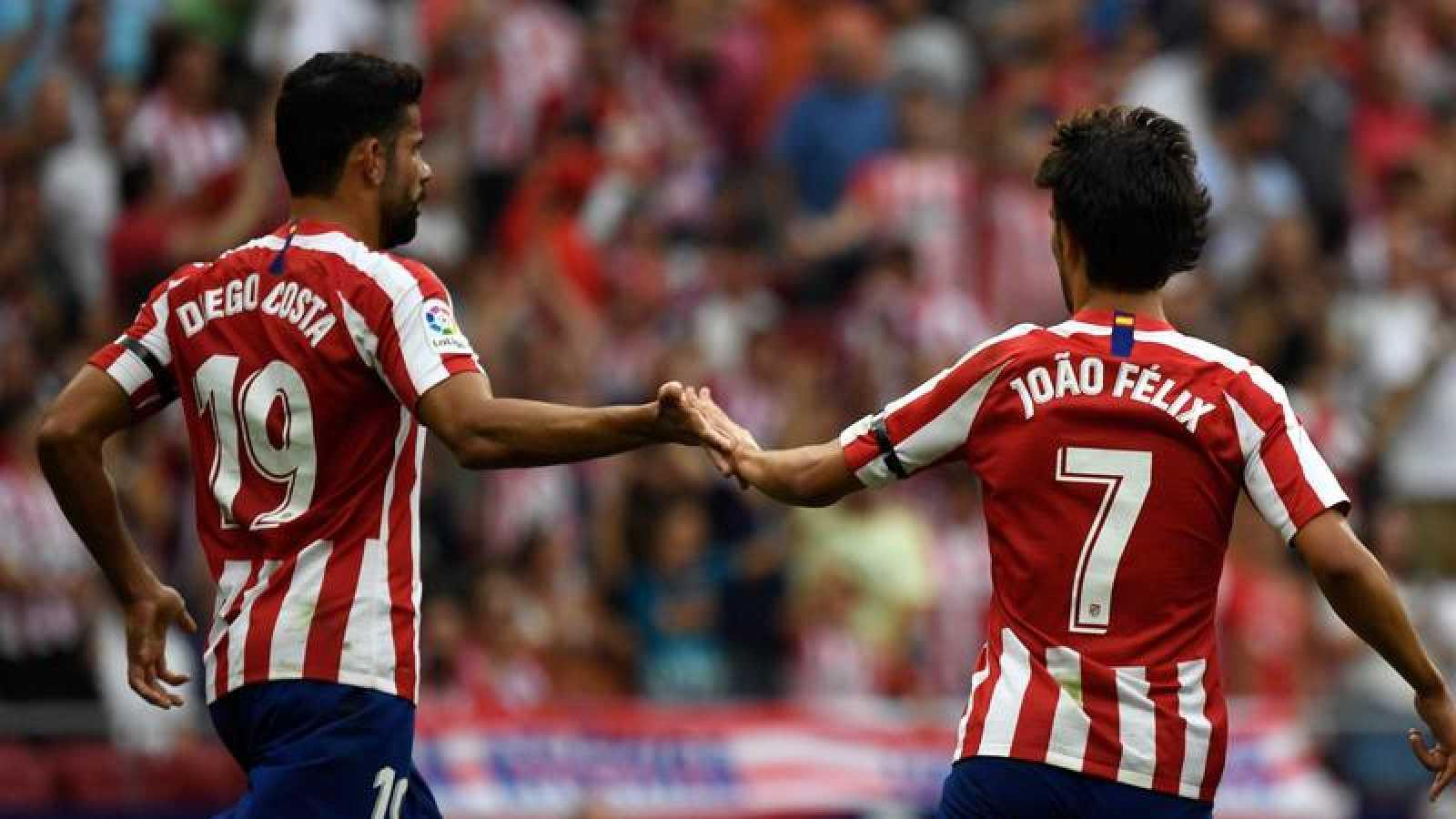 El Atlético escala hacia el liderato en solitario de la Liga