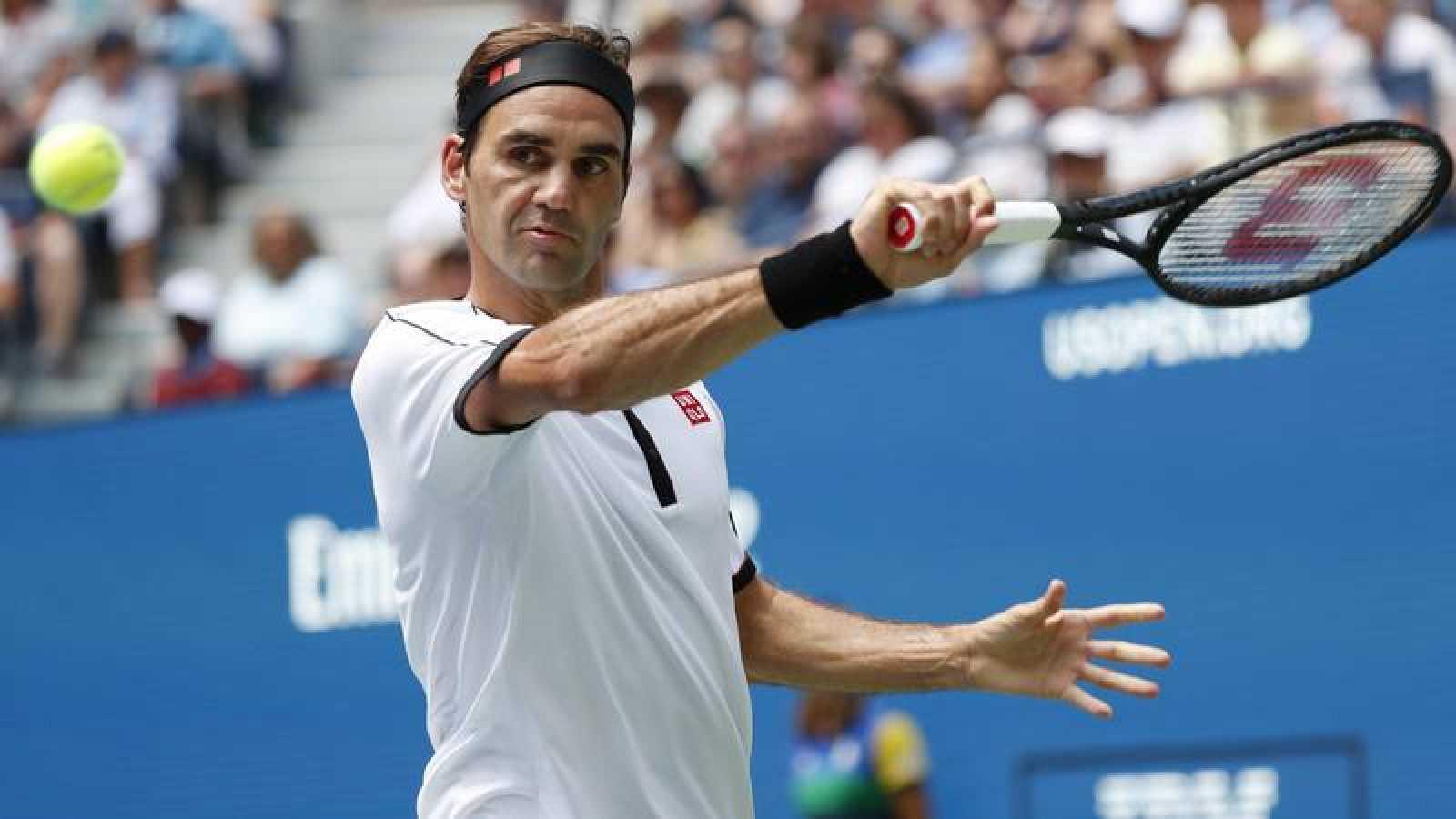 Federer arrolla a Goffin para llegar a cuartos del US Open