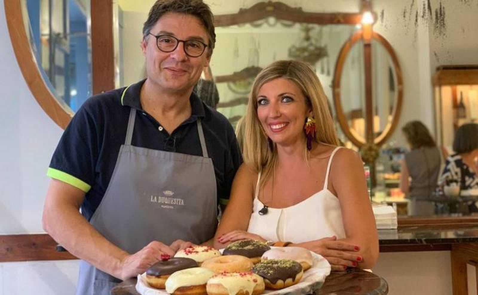 Receta de donuts de Oriol Balaguer