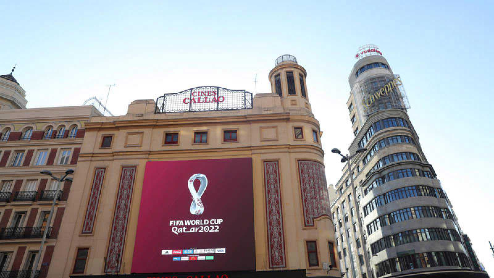 El Mundial de Catar 2022 desvela a nivel mundial su emblema oficial