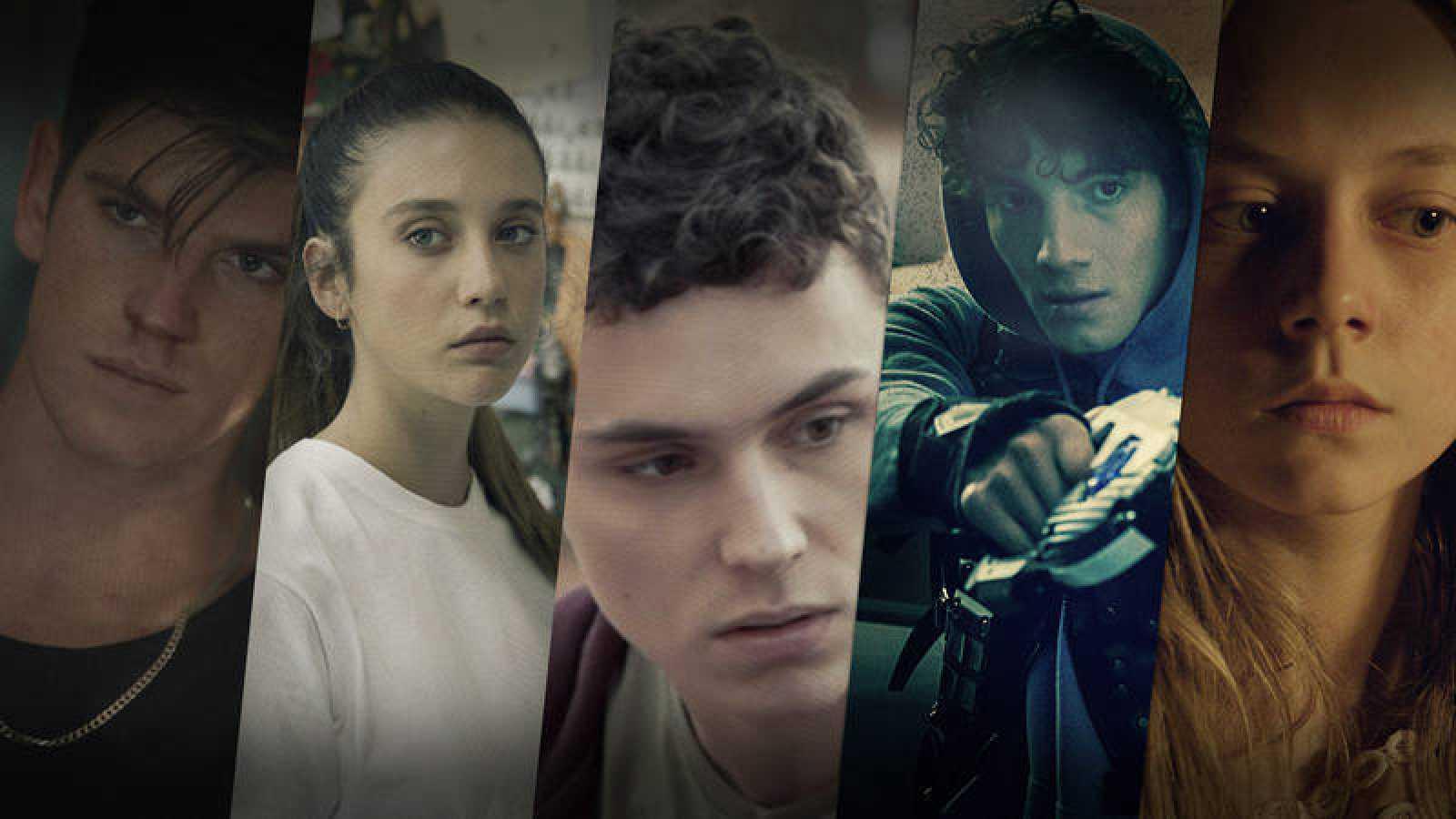 Los protagonistas de 'Élite' en series de TVE y Playz