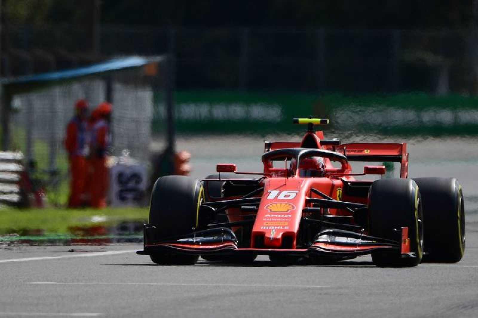 Leclerc en Monza