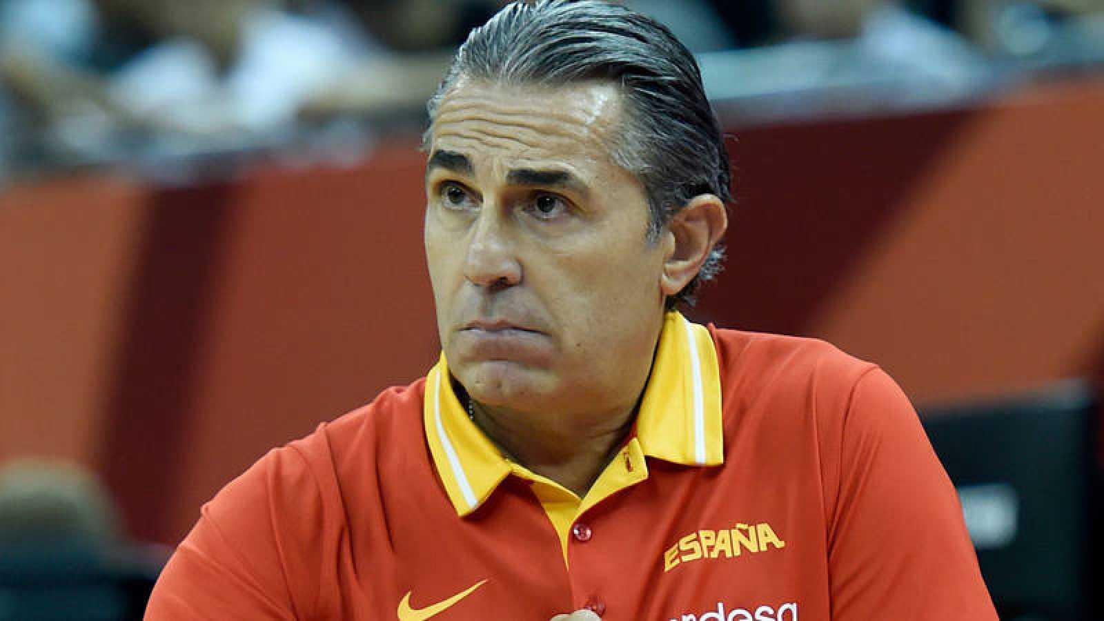 El seleccionador de baloncesto de España, Sergio Scariolo.