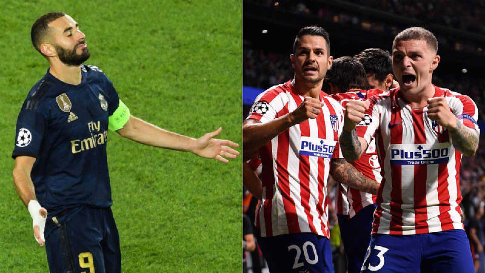 Champions: Madrid y Atlético