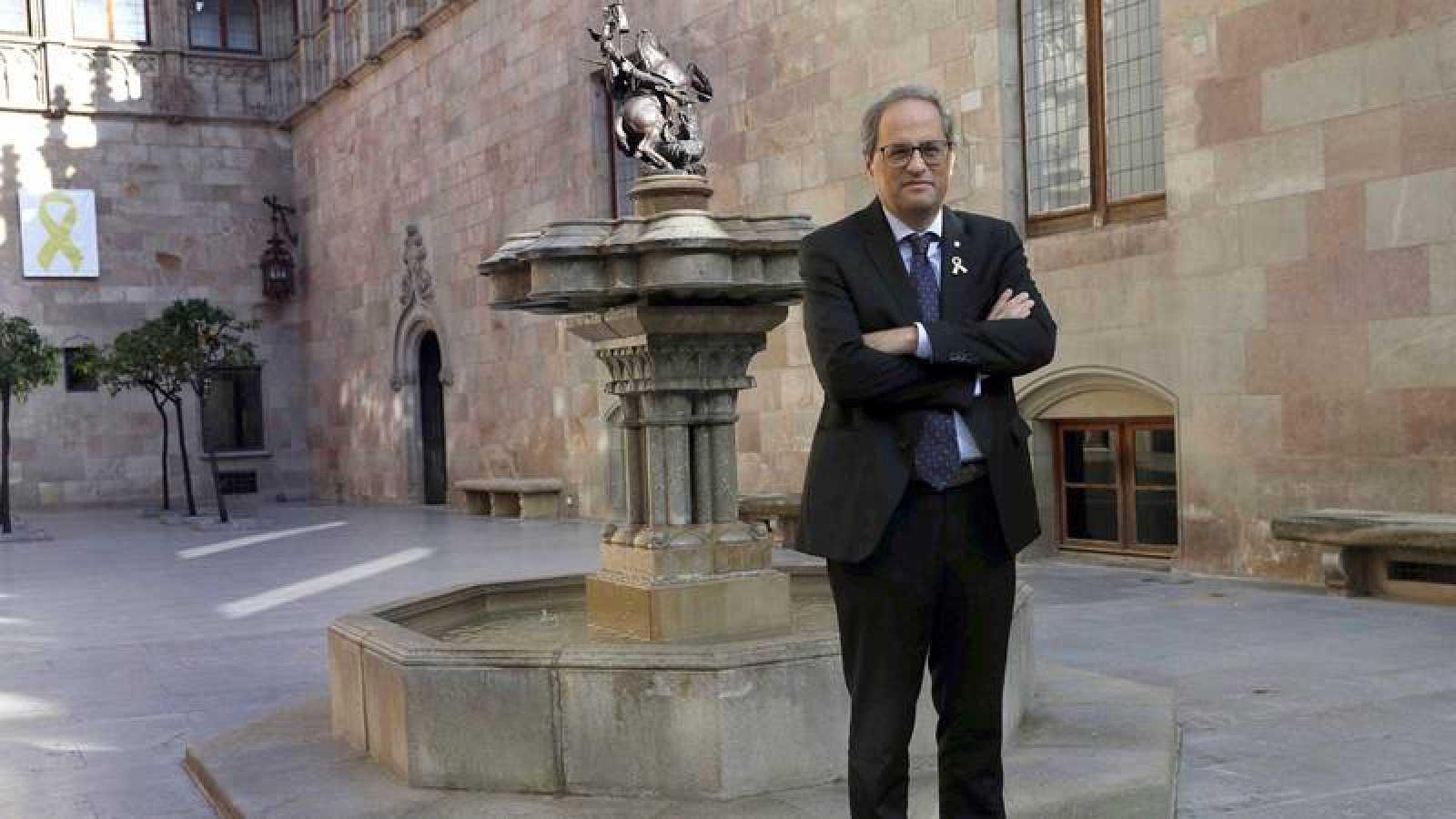 """Torra se muestra """"indignado"""" y pide explicaciones a Sánchez por las detenciones de independentistas"""