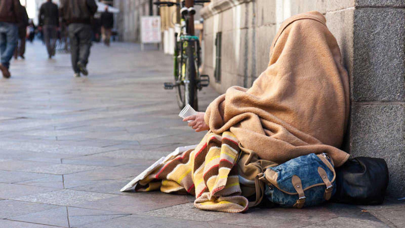 Resultado de imagen de personas sin hogar