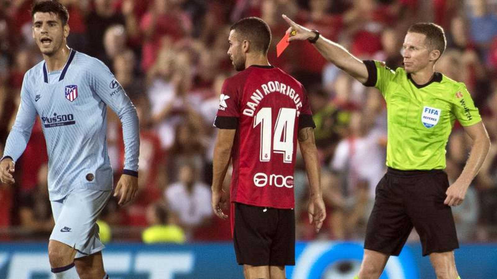 Morata es sancionado con un partido y podría perderse el derbi
