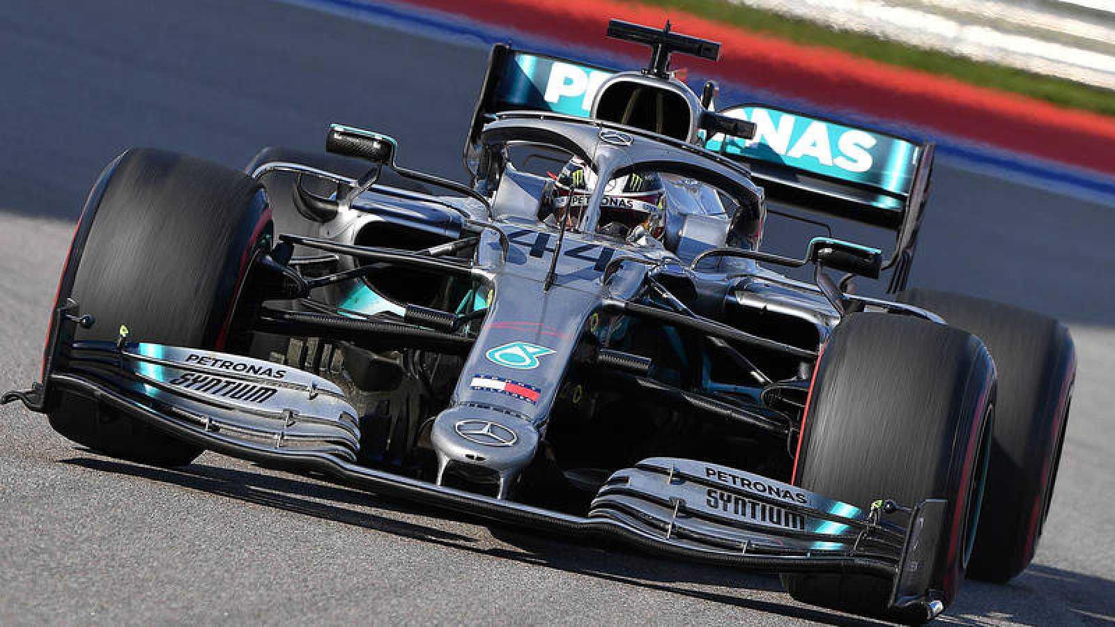 Lewis Hamilton se ha impuesto en el GP de Rusia.