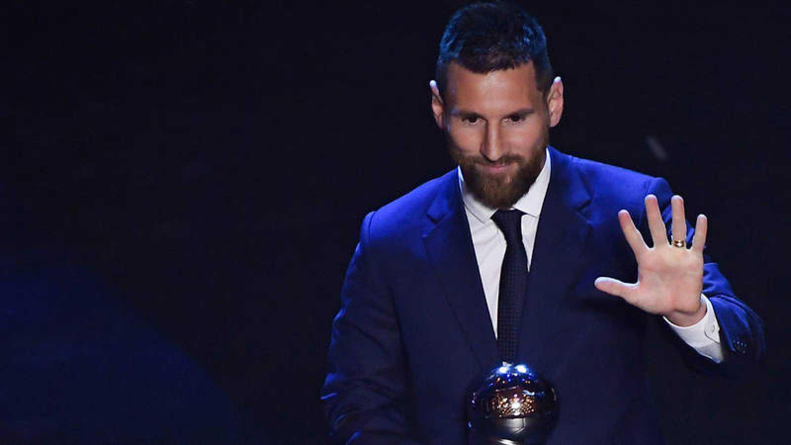 El futbolista argentino Leo Messi