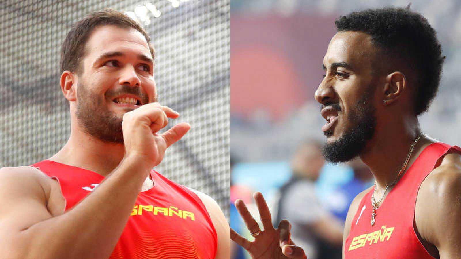 Cienfuegos y Ortega, en el Mundial de Doha