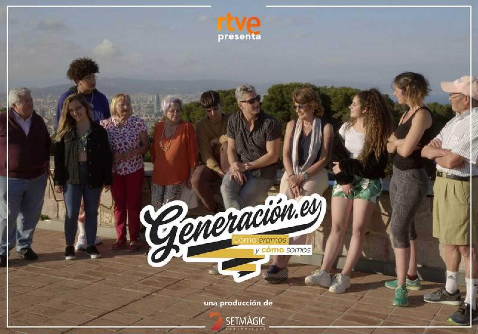 """'Generación.es': La 2 """"viaja en el tiempo"""" para descubrir la brecha generacional"""
