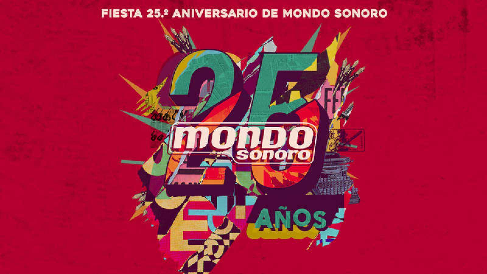 La Fiesta 25.º aniversario de Mondo Sonoro se celebra el 7 de noviembre