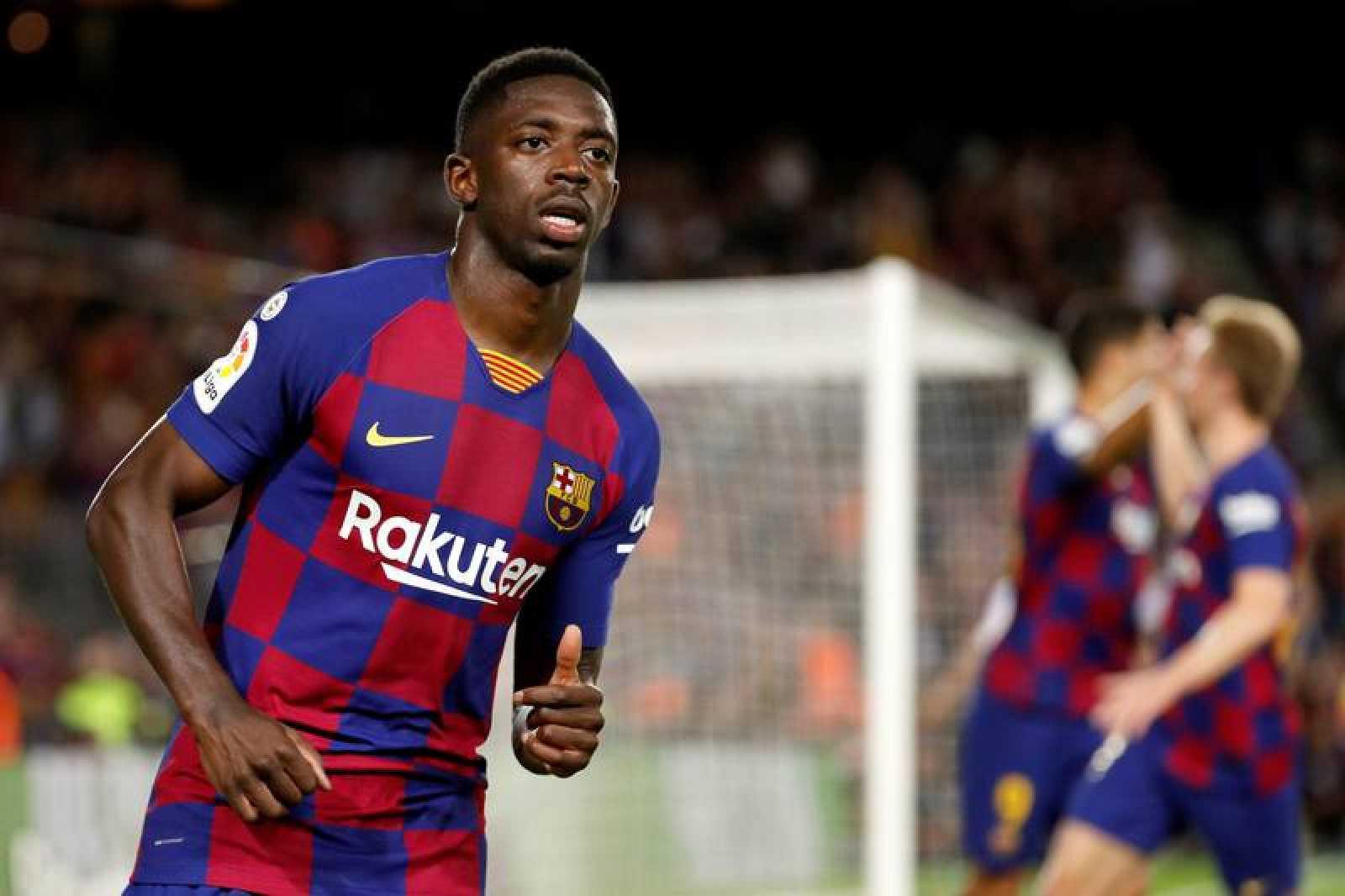 Fc Barcelona Dembele Es Suspendido Con Dos Partidos Y Se Pierde El Clasico