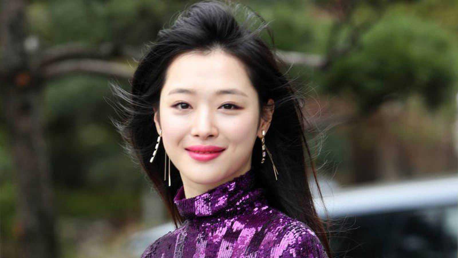 Sulli, una de las estrellas del K-POP surcoreano