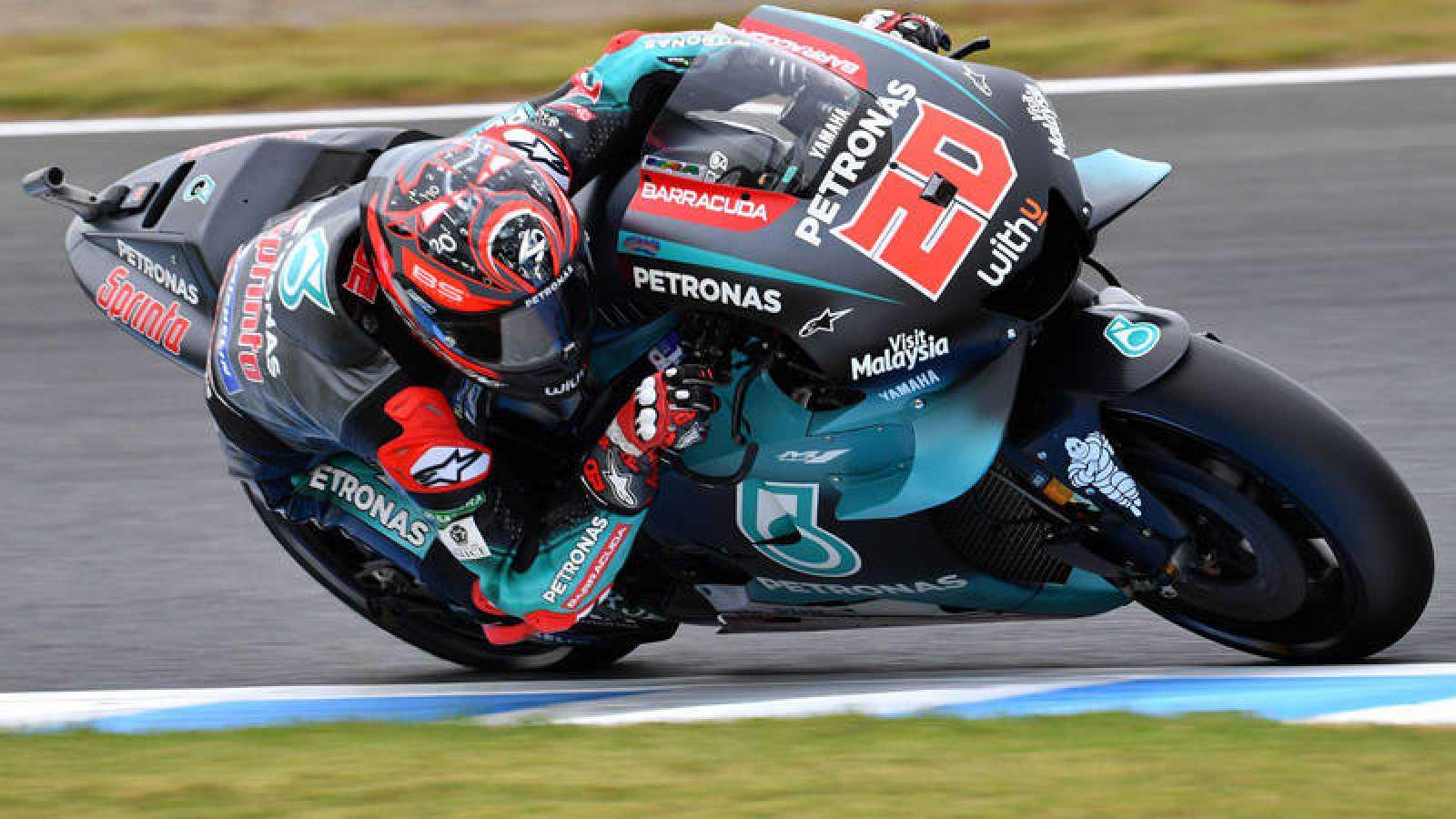El piloto francés de MotoGP Gabio Quartararo.