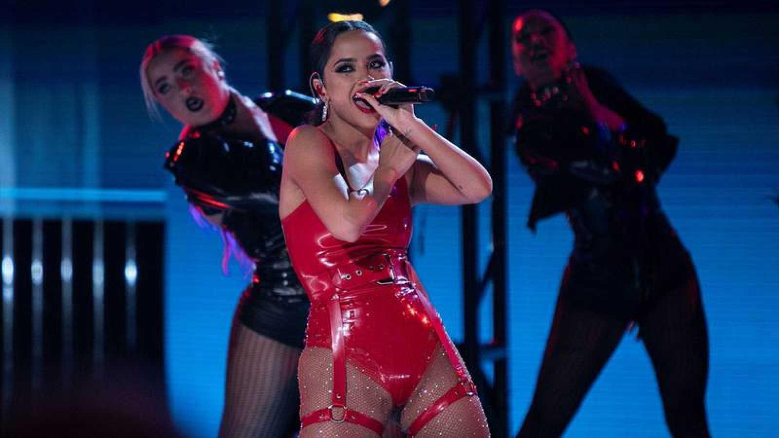 Becky G durante los premios Latin American Music 2019