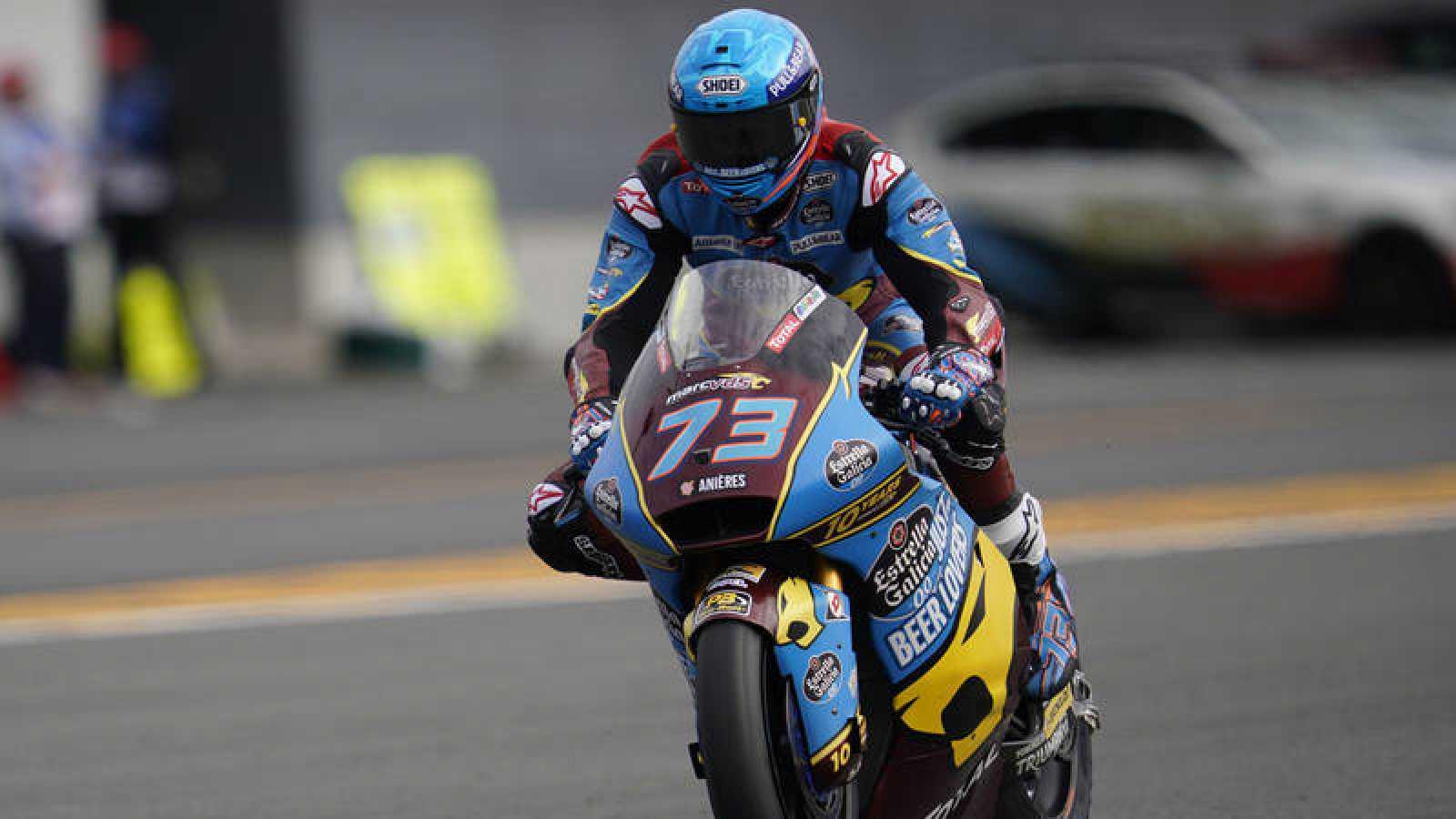 El piloto español de Moto2 y líder del Mundial, Álex Márquez.