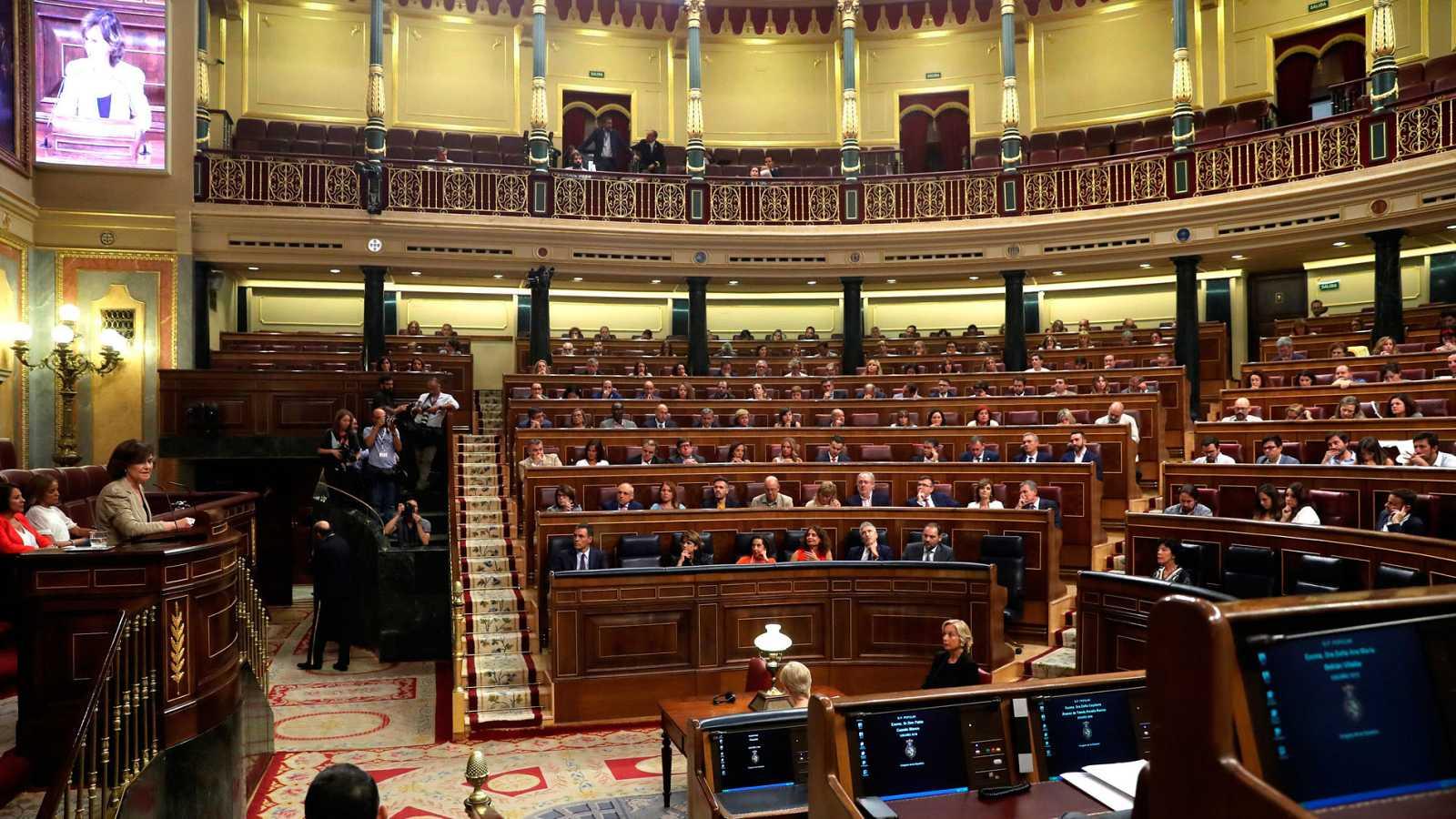 Una imagen de archivo del Congreso de los Diputados reunido en sesión plenaria