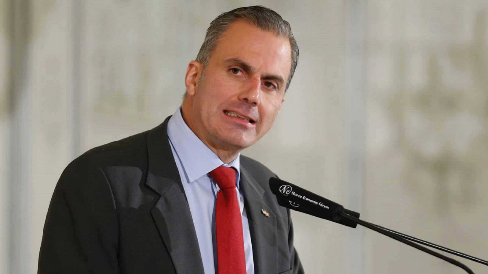 El secretario general de Vox, Francisco Javier Ortega Smith.
