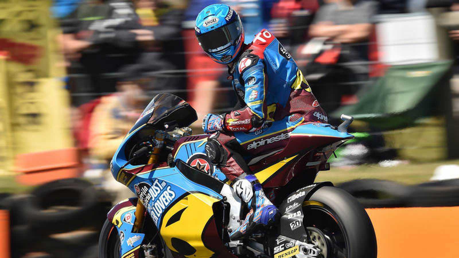 El español Álex Márquez (Moto2), en el pasado GP de Australia.