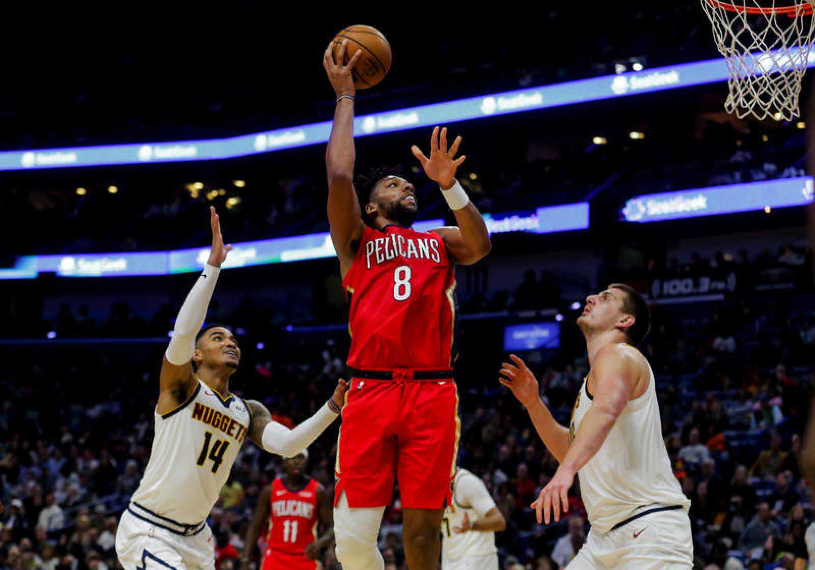 Denver Nuggets at New Orleans Pelicans