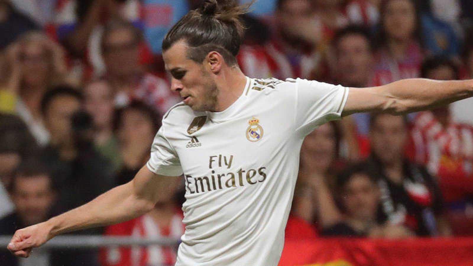 Gareth Bale, en un partido con el Real Madrid.