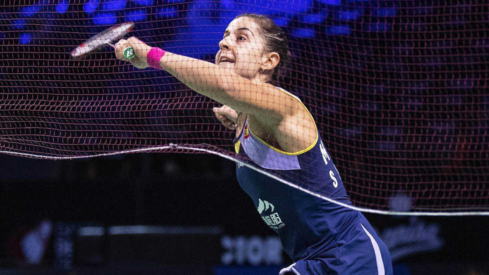 Carolina Marín no seguirá en el torneo de Fuzhou por enfermedad.