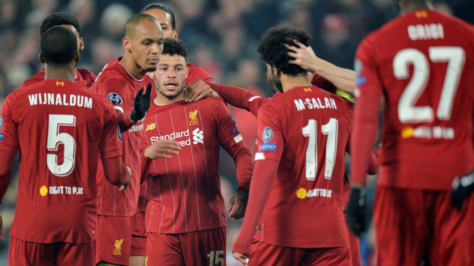 El Liverpool vence al Genk en la cuarta jornada de Champions