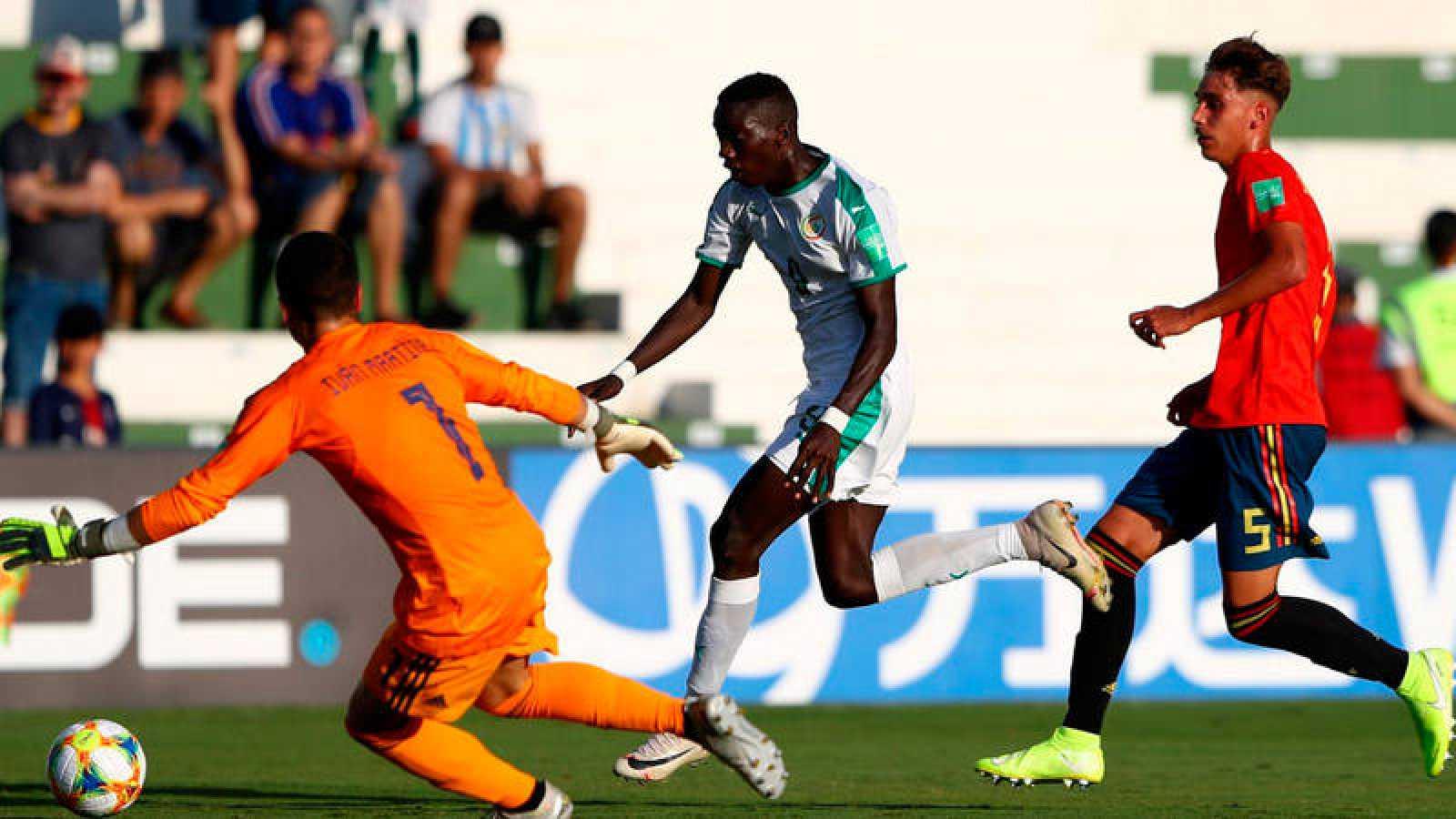 España jugará los cuartos del Mundial tras derrotar a Senegal.