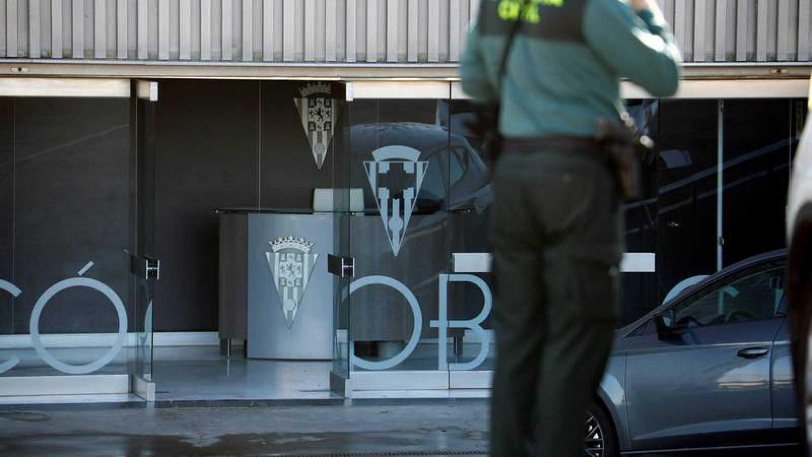 El presidente del Córdoba CF, en libertad con cargos