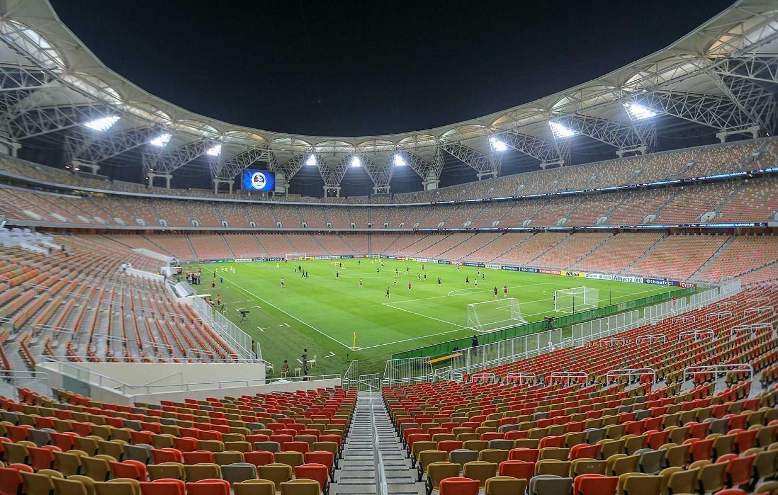 Imagen de archivo del estadio Rey Abdullah de Yeda, en Arabia Saudí.