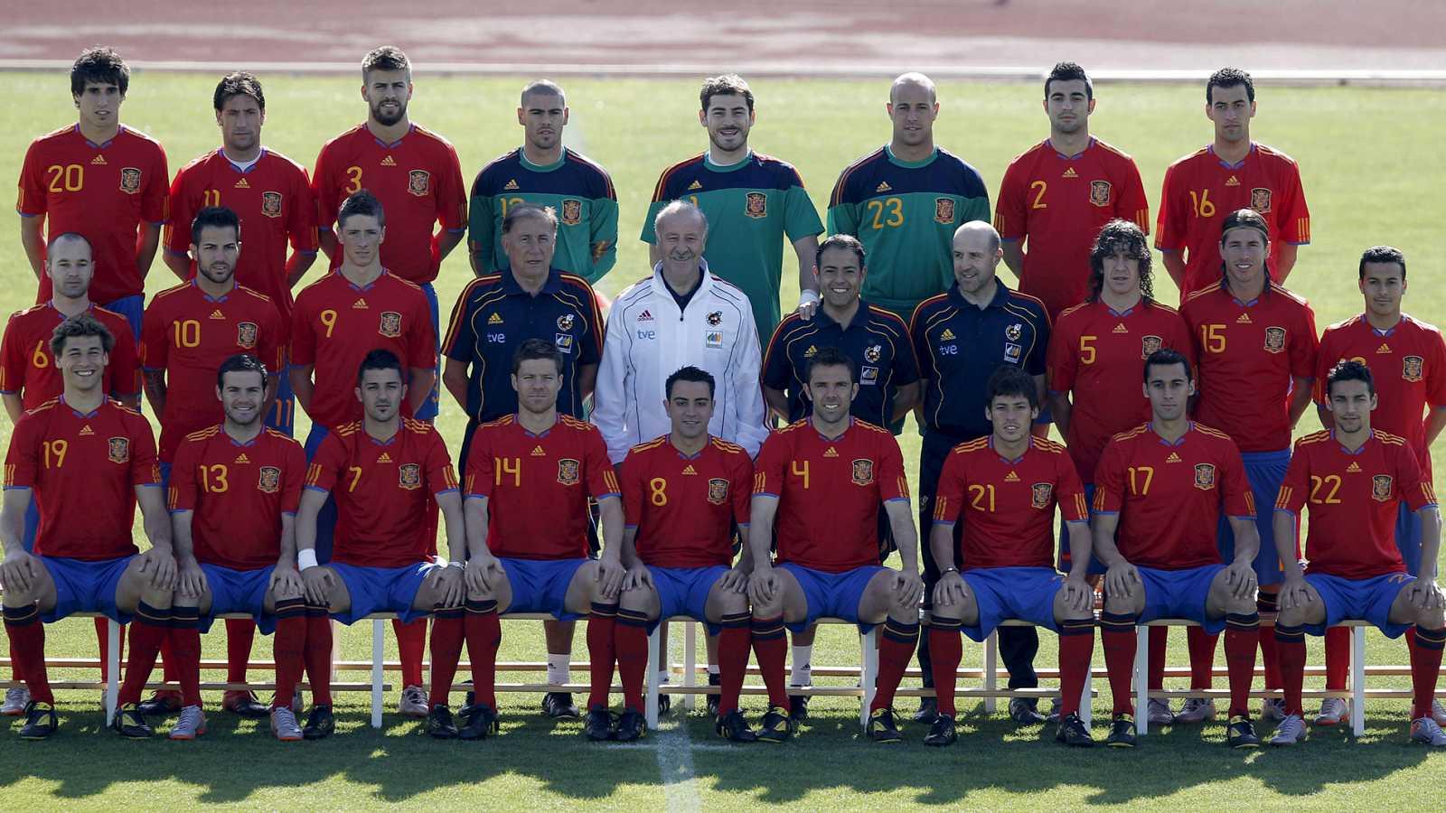 Imagen de archivo de la Selección Española campeona del mundo en 2010