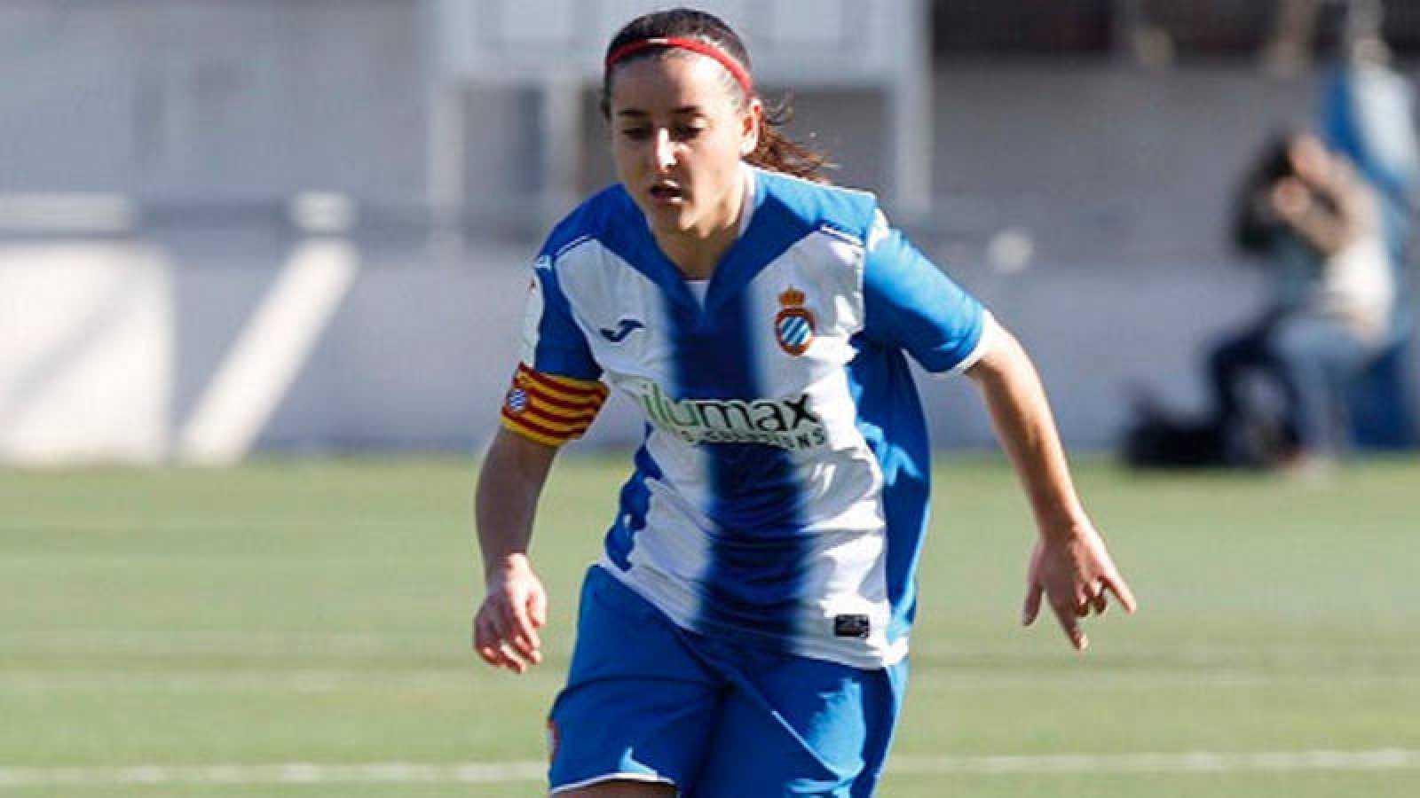 Paloma Fernández, capitana del Espanyol.
