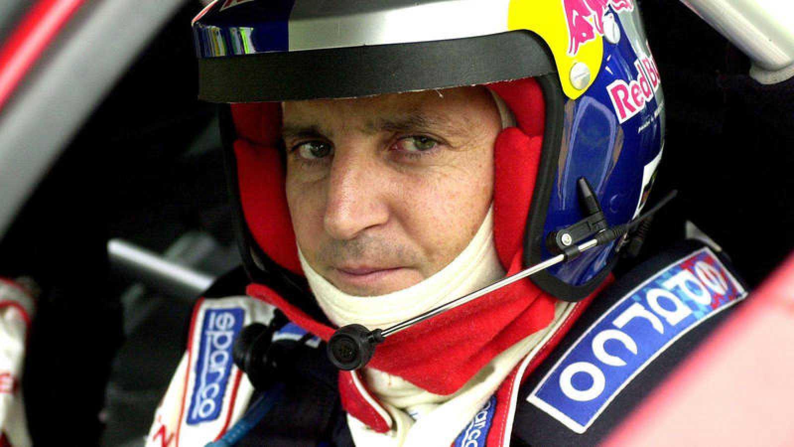 El piloto español Jesús Puras, en una imagen de archivo.