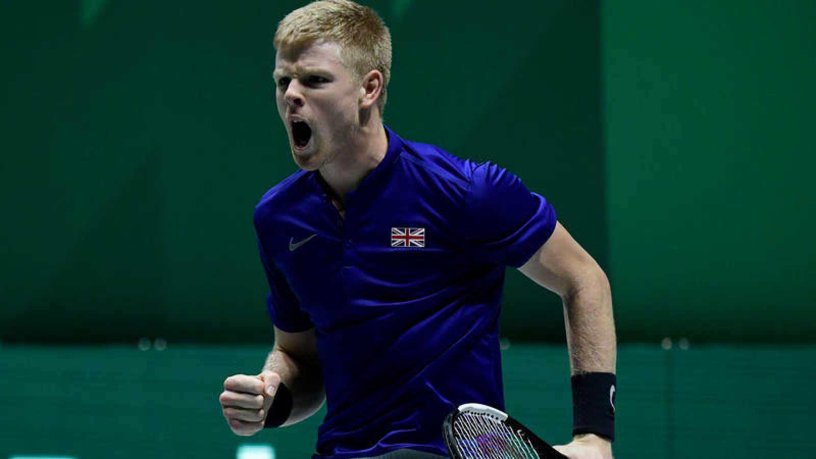 Edmund acerca a Gran Bretaña a semifinales