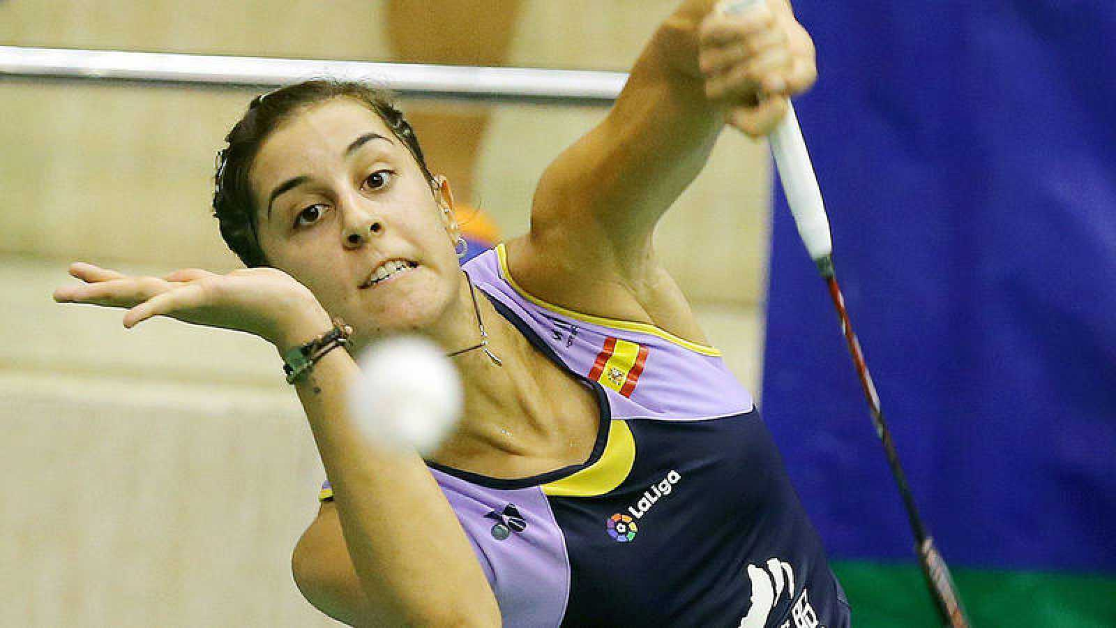 Carolina Marín, en acción.