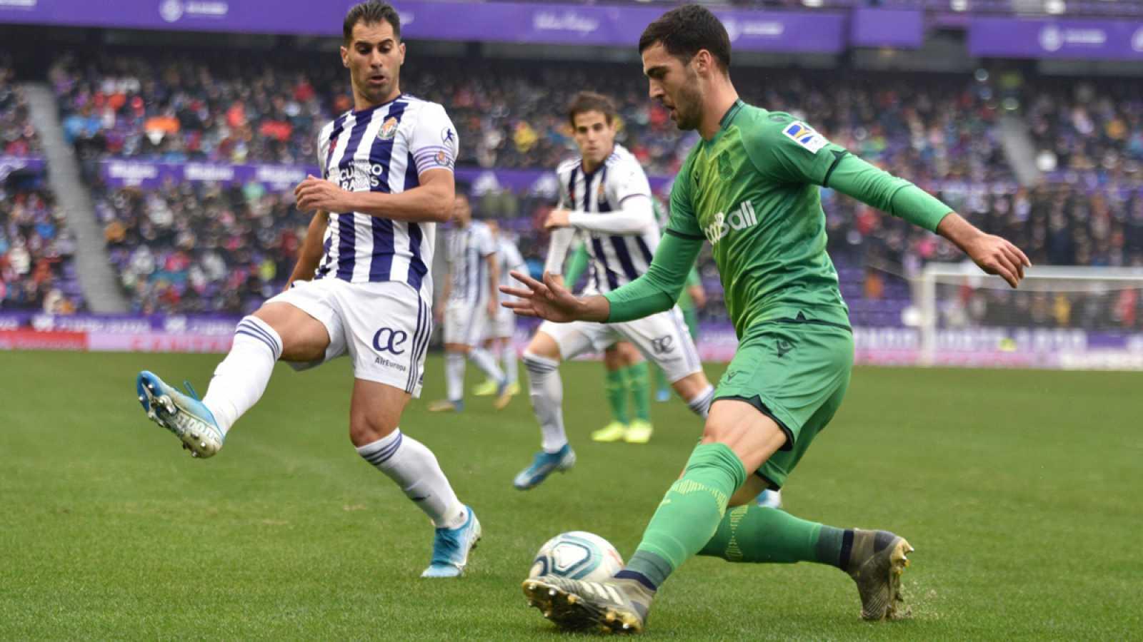 Imagen del Valladolid - Real Sociedad
