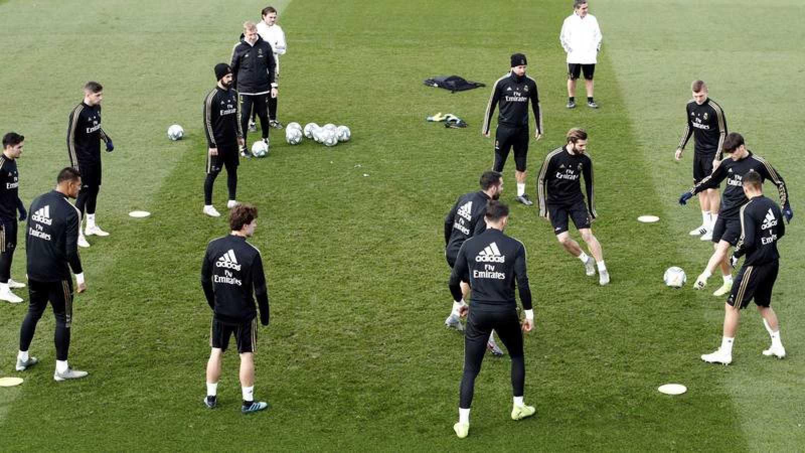 El Madrid afronta el trámite de Brujas pensando en la Liga