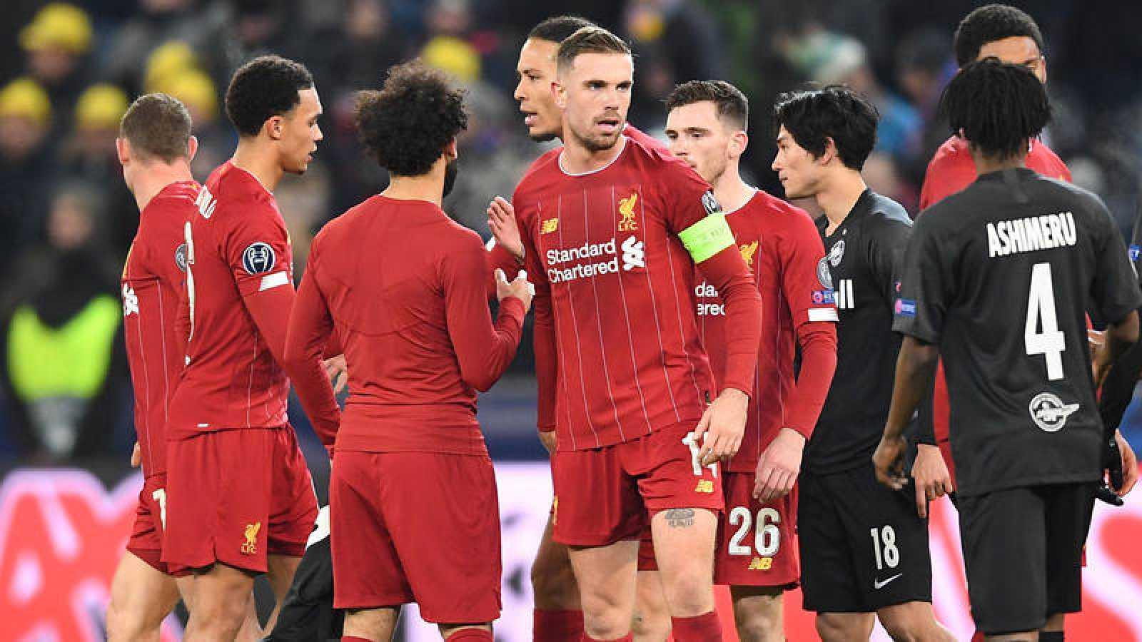 El Liverpool inglés, vigente campeón de la Champions League.