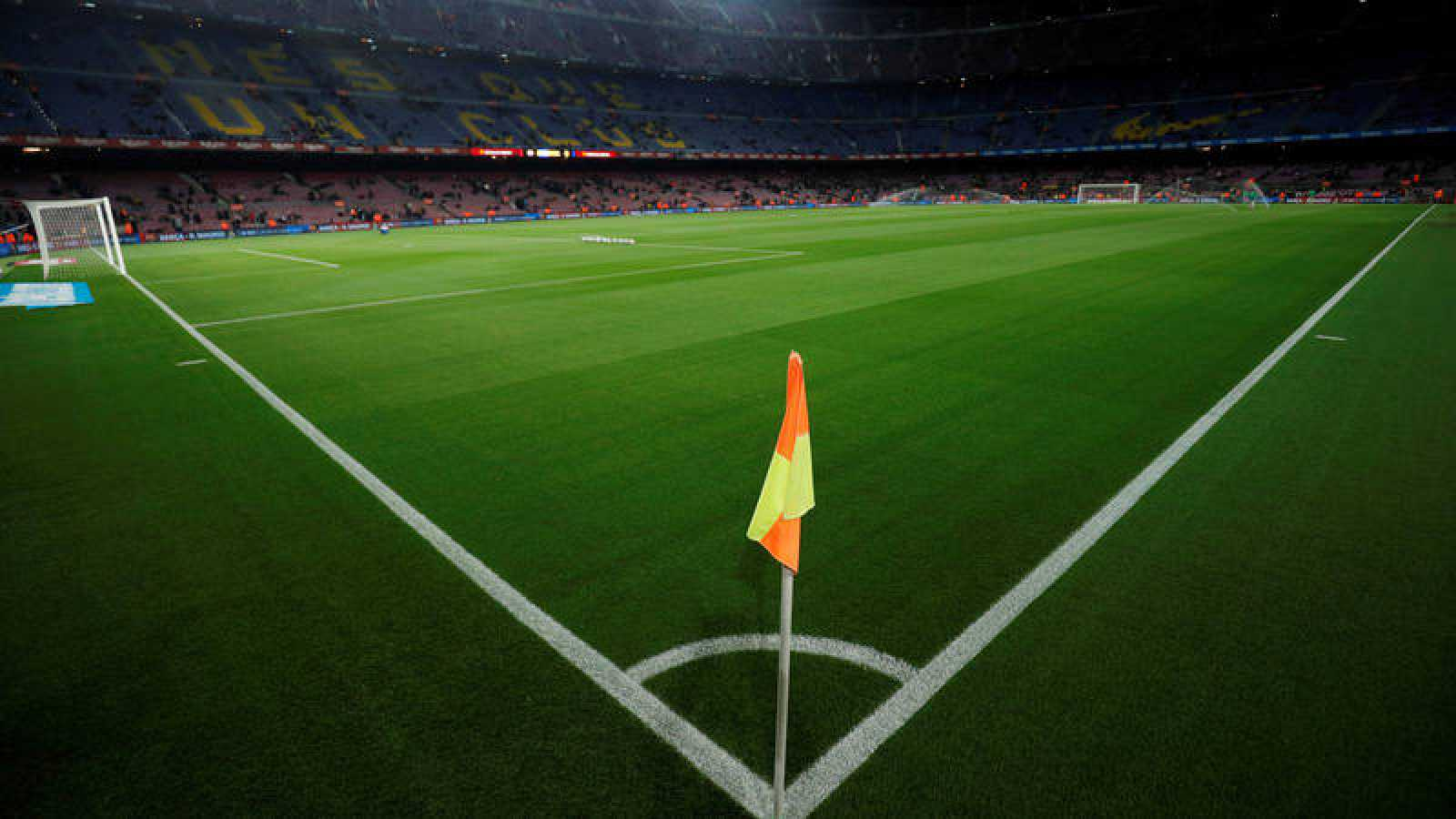 Imagen del Camp Nou antes del partido Barça - Mallorca.