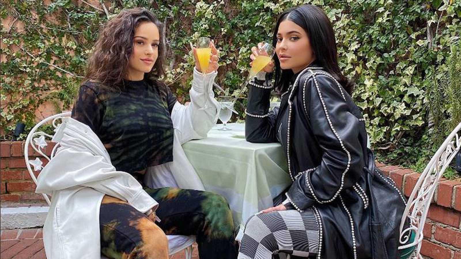 Rosalía y Kylie Jenner sorprenden a sus seguidores
