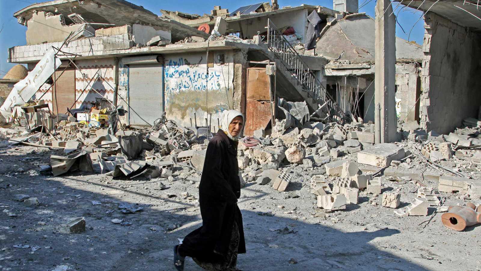 Ascienden a 21 los muertos en ataques de Damasco contra el noroeste de Siria