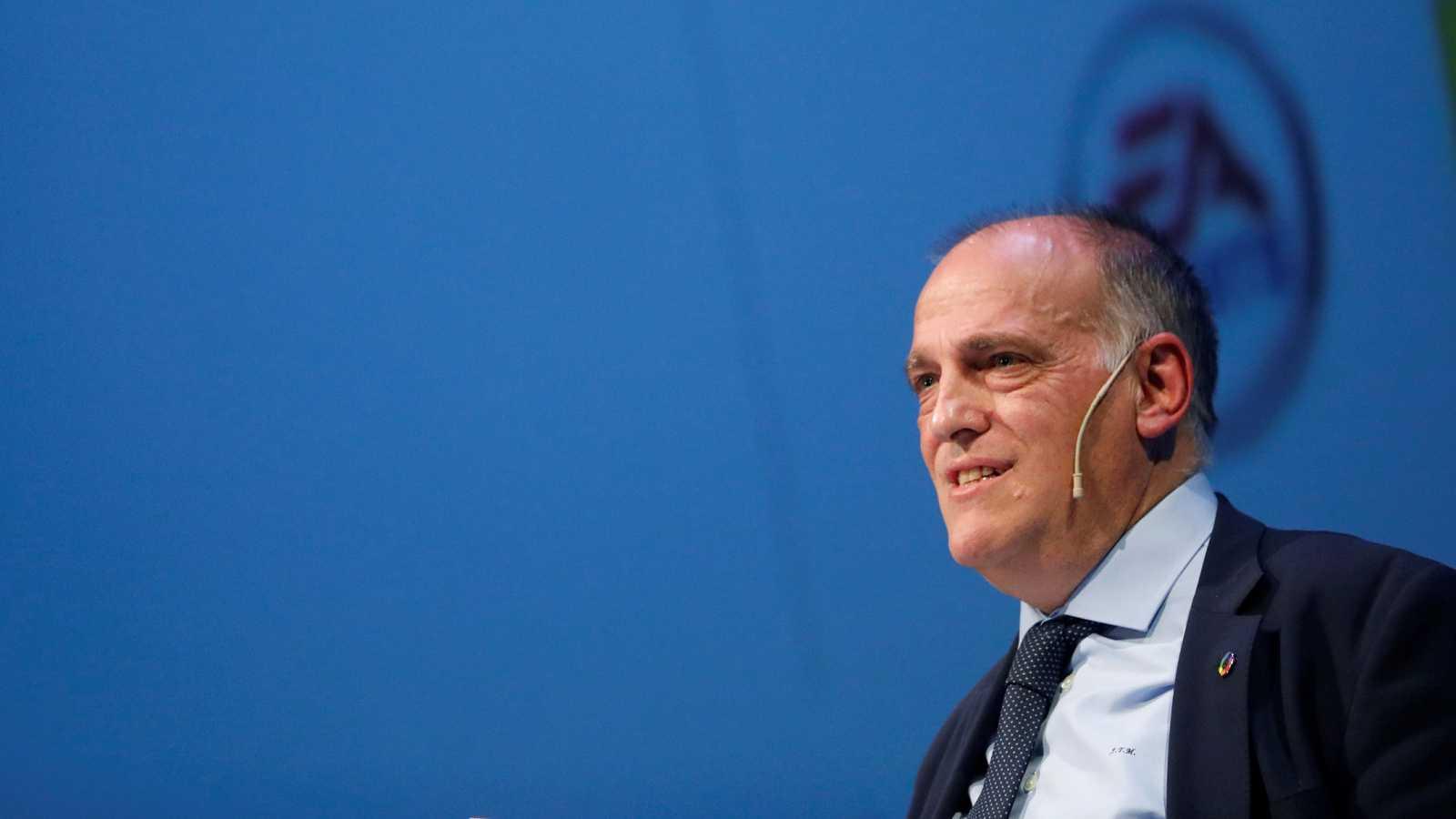Javier Tebas, proclamado presidente de LaLiga de forma provisional