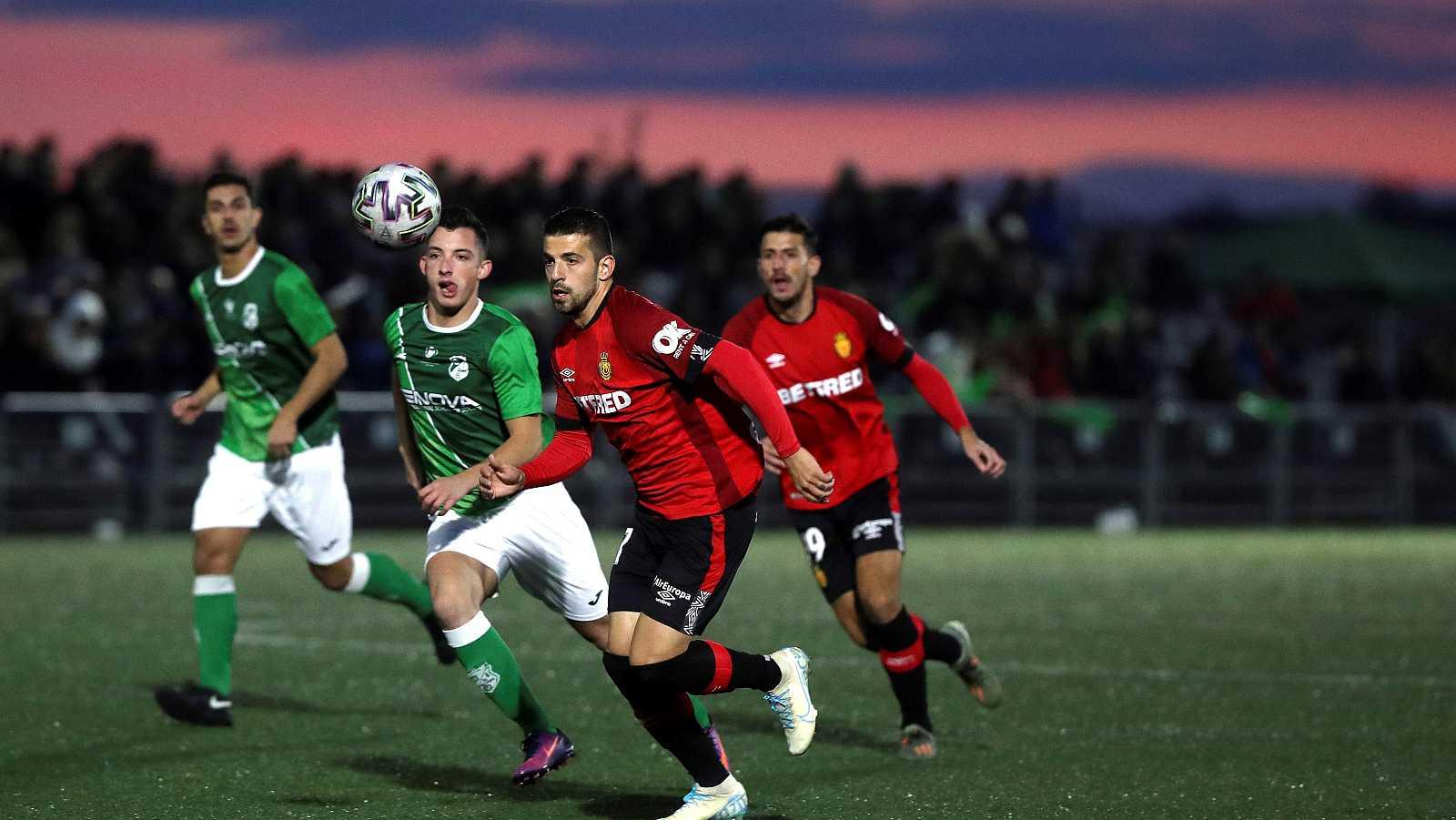 El Mallorca vence al Álamo en la primera ronda de Copa