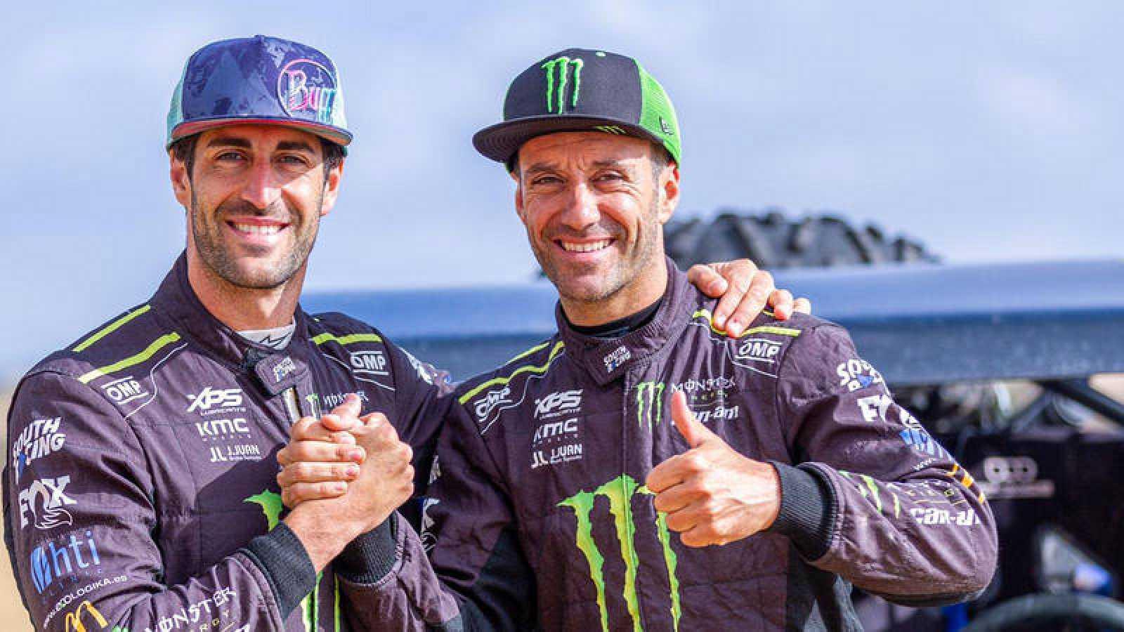 "Gerard Farrés y Armand Monleón: ""Vamos al Dakar a ganar"""
