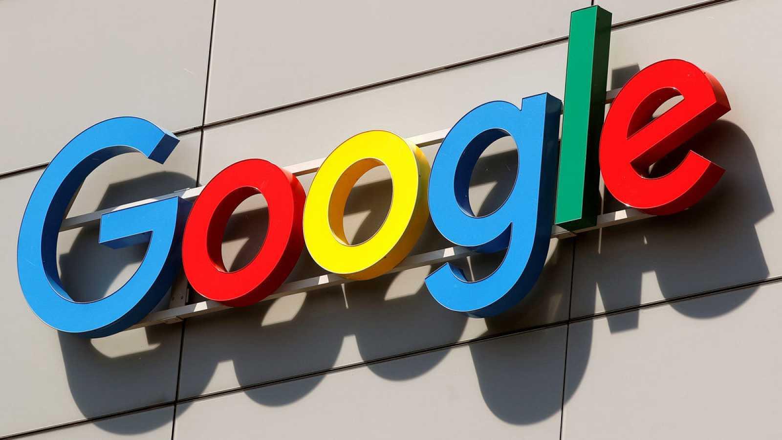 Imagen de archivo del logo de la multinacional Google